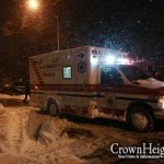 Hatzalah, Shomrim Resuscitate Man who Collapsed While Shoveling Snow