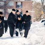 Street Photographer Captures Holocaust Survivor's Determination to Daven with a Minyan