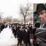 Hundreds Attend Levaya for R' Chaim New OBM