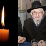 Boruch Dayan Hoemes: R' Bentzion Friedman, 84, OBM