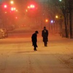 2-4 Inches of Snow Falls; Blizzard Warning Called Off