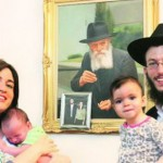 Mumbai Shluchim Name Baby Boy After Slain Shliach