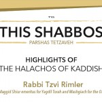 Shabbos at the Besht: Highlights of Halachos of Kaddish