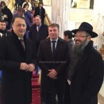 Picture of the Day: MK, Philanthropist and Shliach