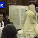Boy's Bar Mitzvah Footage with the Rebbe Goes Online