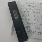 Picture of the Day: Tefilas Haderech in a Mezuzah?