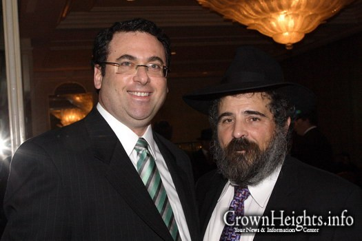Baruch C. Cohen, Esq. with Rabbi Yehoshua Gordon, OBM.