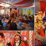 Purim Circus Comes to Ukraine Synagogue