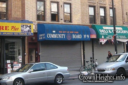 CB-9 Offices in Crown Heights