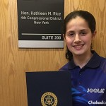 14-Year-Old Table-Tennis Star Receives Congressional Award