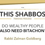 Shabbos at the Besht: Do Wealthy People Also Need Bitachon?