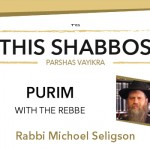 Shabbos at the Besht: Purim with the Rebbe