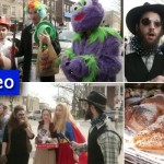 Video: Purim 5776 in Crown Heights