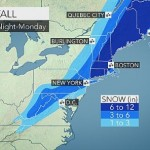 3-6 Inches of Snow Expected to Fall Sunday