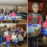 Jewish Children in Ukraine Warzone Receive Clothing