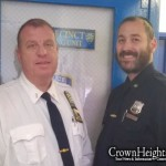 Lubavitcher Police Officer Honored for Bravery
