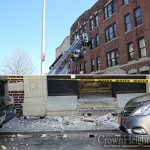 Portion of Neglected Building's Facade Collapses