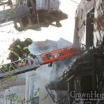Elderly Woman Dies in 2-Alarm Blaze
