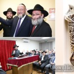 Chief Rabbi Dedicates UK Chabad House Extension