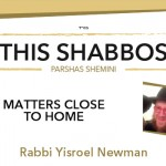 Shabbos at the Besht: Matters Close to Home