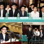 Boys Compete in Chidon on Hilchos Tefilin