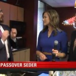 Video: Shliach Reveals Charoses Recipe on TV