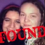 Two Missing Teenage Girls Found Safe