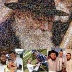 Tefillin 'Selfies' Combined into Amazing Rebbe Portrait