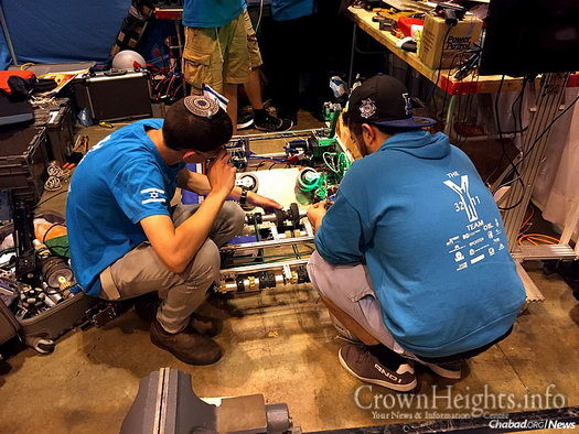 Participants from 11 Israeli high school robotics teams were in St. Louis recently, competing as part of the FIRST Robotics Competition, the FIRST Tech Challenge and the FIRST LEGO League.