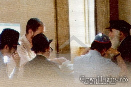 Photo: Lubavitch Archives.