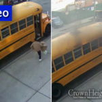 Surveillance Camera Captures Bus Arson