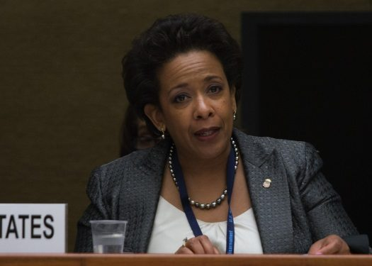 U.S. Dept. of Justice head Loretta Lynch