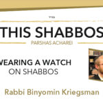 Shabbos at the Besht: Wearing a Watch on Shabbos