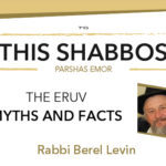 Shabbos at the Besht: The Eruv – Myths and Facts