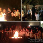 First Lag Ba'omer Bonfire of the Year Burns in Sydney