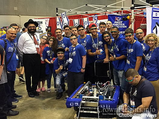 The Israeli teams were a model of cooperation for the rest of the world, according to American inventor Dean Kamen, who founded FIRST in 1989.