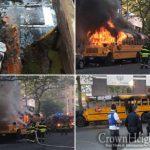 AP: Bus Arson Evokes Riots of 1991