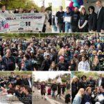 Hundreds 'Walk 4 Friendship' in Long Island