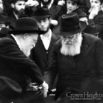 Rare Picture of the Rebbe from 1977 Uncovered