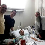 Skydiver Suffers Free Fall; Rabbis Cushion the Blow