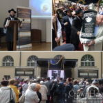 Estonian Jews Celebrate New Sefer Torah
