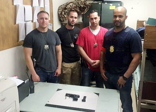 The anti-crime team that made the arrest.