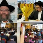 Community Gathers for Shloshim of Beloved Shliach