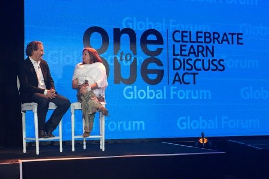 A marathon of public conversations and fireside chats at the inaugural One-to-One Global Forum are designed to spur tangible and transformative societal good.
