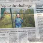Picture of the Day: Brave Young Girl on the Front Page