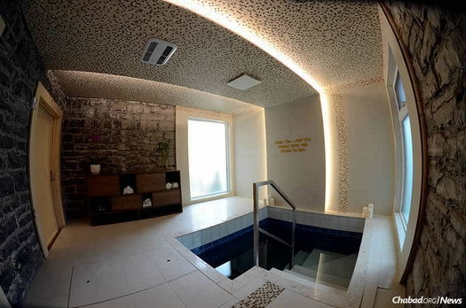 A new mikvah in Quebec City will serve Jewish residents and visitors to the French-speaking enclave.