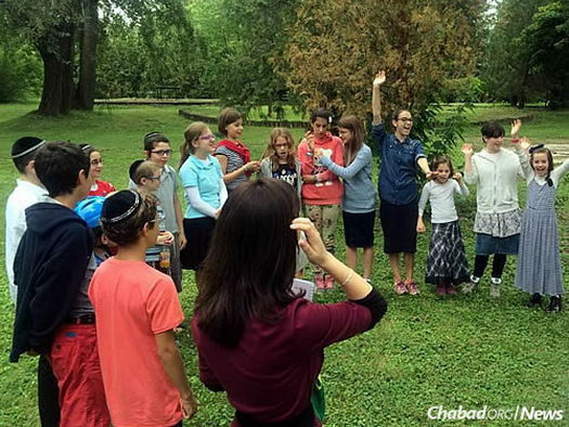 For the past four years, the camp has attracted about 60 children from Budapest.