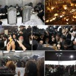 Photos: Motzai Shabbos at the Ohel