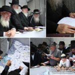 Photos: The 'Pan Kloli' is Read at the Ohel