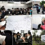 Photos: Thousands Begin Descending on the Ohel